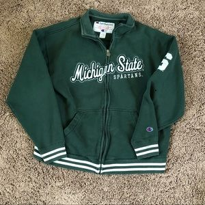 Vintage Michigan State Spartans Champion Jacket